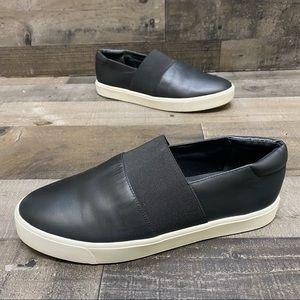 Vince Corbin Black Leather Slip On Shoes Size 8 M